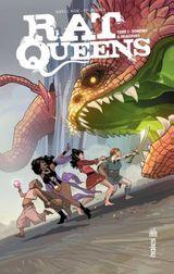 Couverture Rat Queens, tome 1