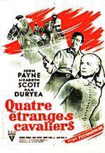 Affiche Quatre étranges cavaliers
