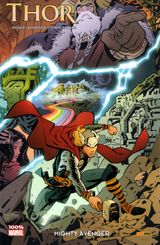 Couverture Thor : Mighty Avenger