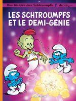 Couverture Les Schtroumpfs - Tome 34 - Les Schtroumpfs et le demi-génie