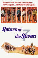 Affiche Le Retour des sept