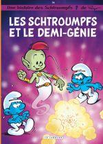 Couverture Les Schtroumpfs et le demi-génie - Les Schtroumpfs, tome 34