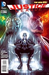 Couverture Justice League: Darkseid War