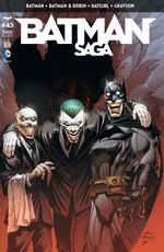 Couverture Batman Saga, tome 43