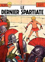 Couverture Le Dernier Spartiate - Alix, tome 7