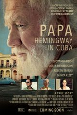 Affiche Papa Hemingway in Cuba