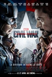 Affiche Captain America : Civil War