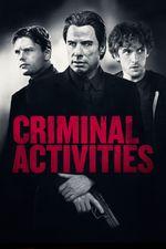 Affiche Criminal Activities