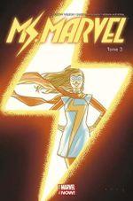 Couverture Coup de foudre - Ms. Marvel (2014), tome 3