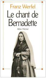 Couverture Le Chant de Bernadette