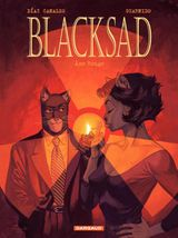 Couverture Âme rouge - Blacksad, tome 3