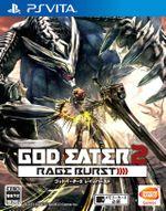 Jaquette God Eater 2 : Rage Burst