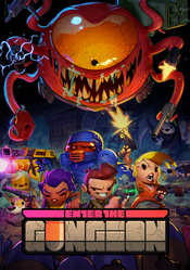Jaquette Enter the Gungeon