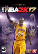 Jaquette NBA 2K17