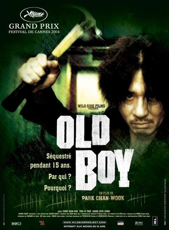 Votre dernier film visionné - Page 2 Old_Boy