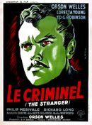 Affiche Le Criminel