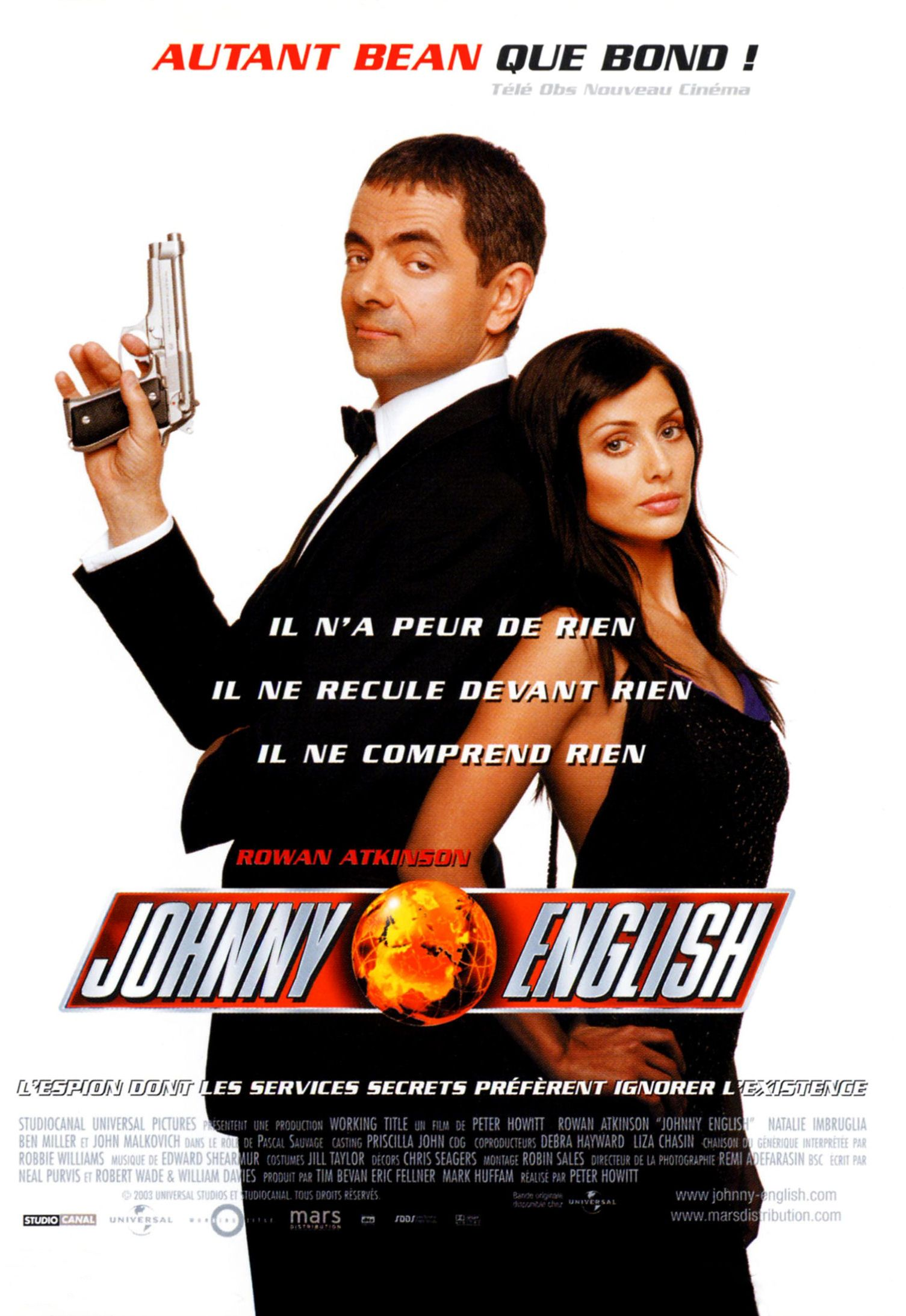 Johnny English Filme