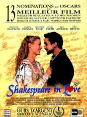 Affiche Shakespeare in Love