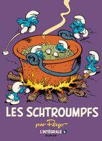 Couverture 1975-1988 - Les Schtroumpfs : L'Intégrale, tome 4