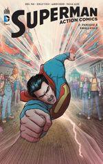 Couverture Panique à Smallville - Superman : Action Comics, tome 2