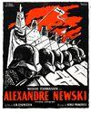 Affiche Alexandre Nevski