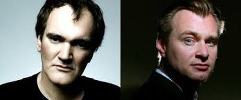 Illustration Chrisopher Nolan vs Quentin Tarantino