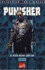 Couverture Plus mort que vif - Punisher (100% Marvel), tome 2