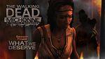 Jaquette The Walking Dead : Michonne Episode 3 - What We Deserve