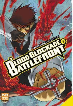 Couverture Blood Blockade Battlefront, tome 1