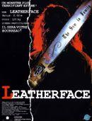 Affiche Leatherface - Massacre à la tronçonneuse III