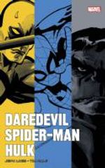 Couverture Daredevil, Spider-Man, Hulk par Loeb et Sale
