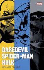 Couverture Daredevil, Spider-Man, Hulk par Loeb et Sale