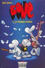 Couverture La Grande Course - Bone (N&B), tome 2