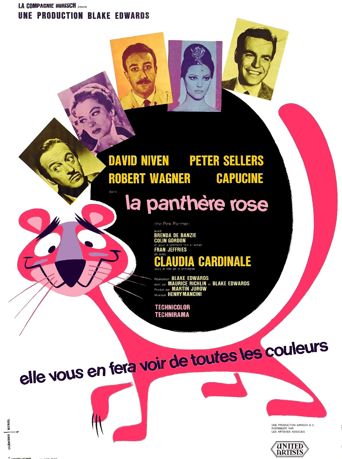la panthere rose avec peter sellers