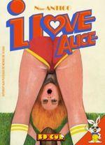 Couverture I love Alice