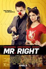 Affiche Mr. Right
