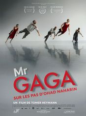 Affiche Mr. Gaga, sur les pas d'Ohad Naharin