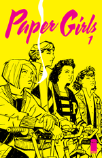 Couverture Paper Girls (2015 - 2019)