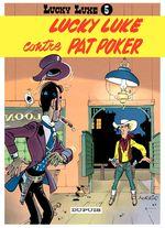 Couverture Lucky Luke contre Pat Poker - Lucky Luke, tome 5