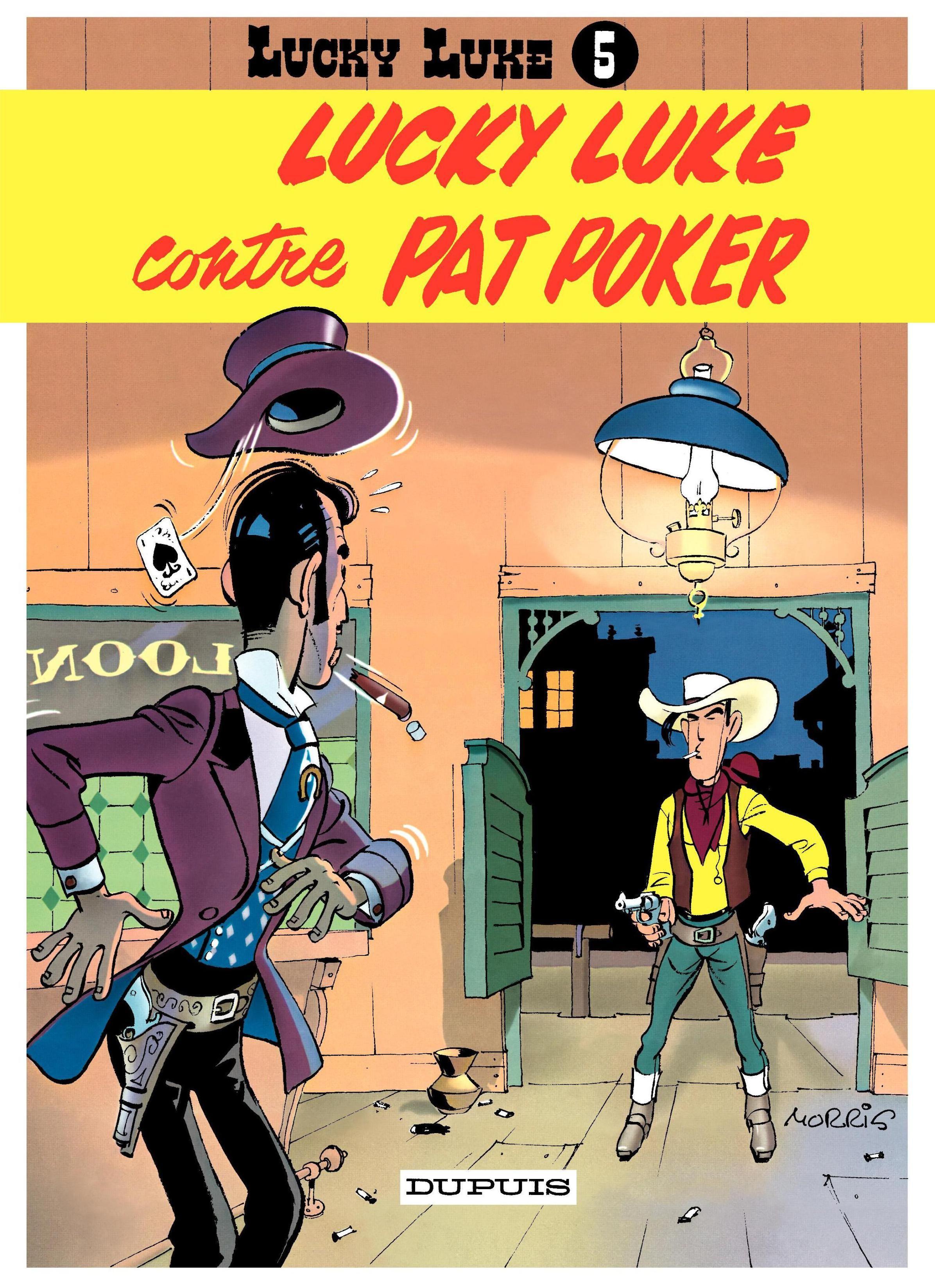Lucky Luke Contre Pat Poker Lucky Luke Tome 5 Morris