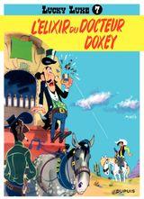 Couverture L'Élixir du docteur Doxey - Lucky Luke, tome 7