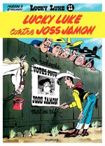 Couverture Lucky Luke contre Joss Jamon - Lucky Luke, tome 11