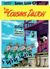 Couverture Les Cousins Dalton - Lucky Luke, tome 12