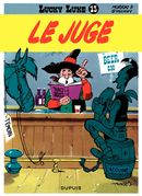 Couverture Le Juge - Lucky Luke, tome 13