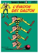 Couverture L'Évasion des Dalton - Lucky Luke, tome 15
