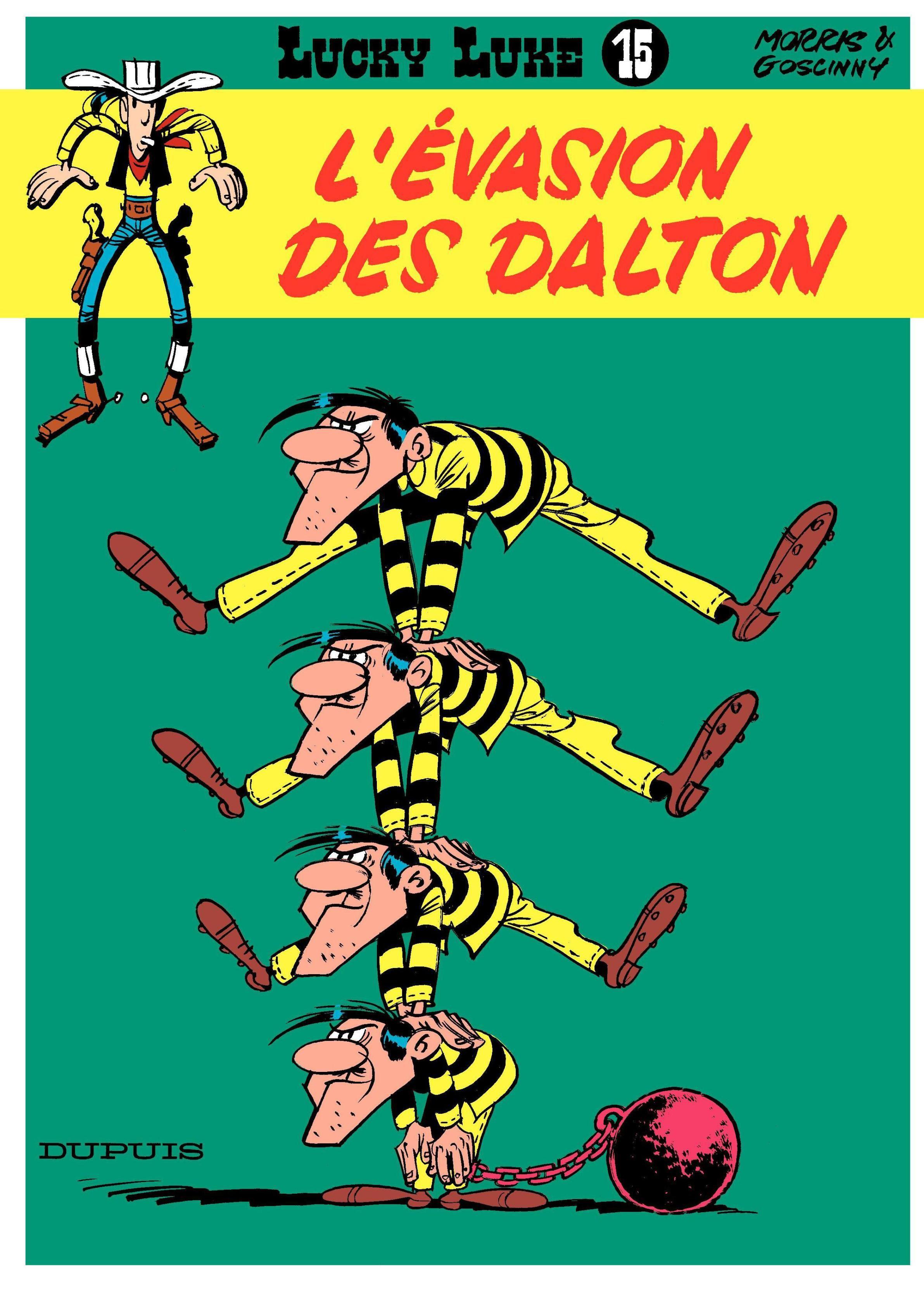 L Evasion Des Dalton Lucky Luke Tome 15 Senscritique