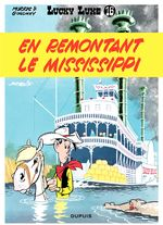 Couverture En remontant le Mississippi - Lucky Luke, tome 16