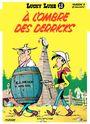 Couverture À l'ombre des derricks - Lucky Luke, tome 18