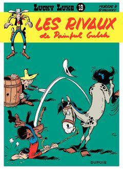 Couverture Les Rivaux de Painful Gulch - Lucky Luke, tome 19