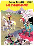 Couverture La Caravane - Lucky Luke, tome 24